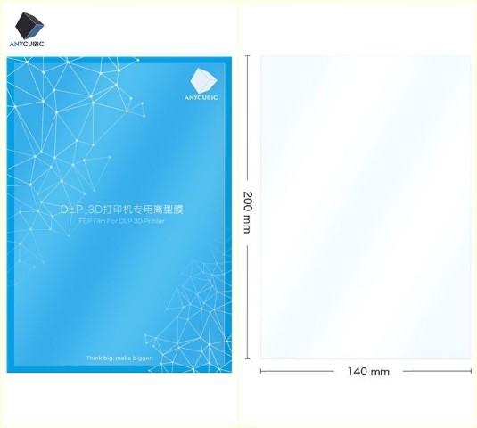 1 x Pelicula FEP (Original Anycubic) 200x140mm