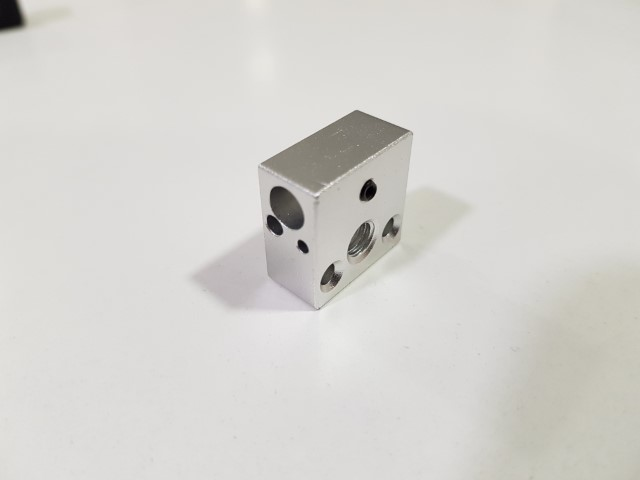 Bloco de aquecimento em Alumínio Ender 3 e CR10