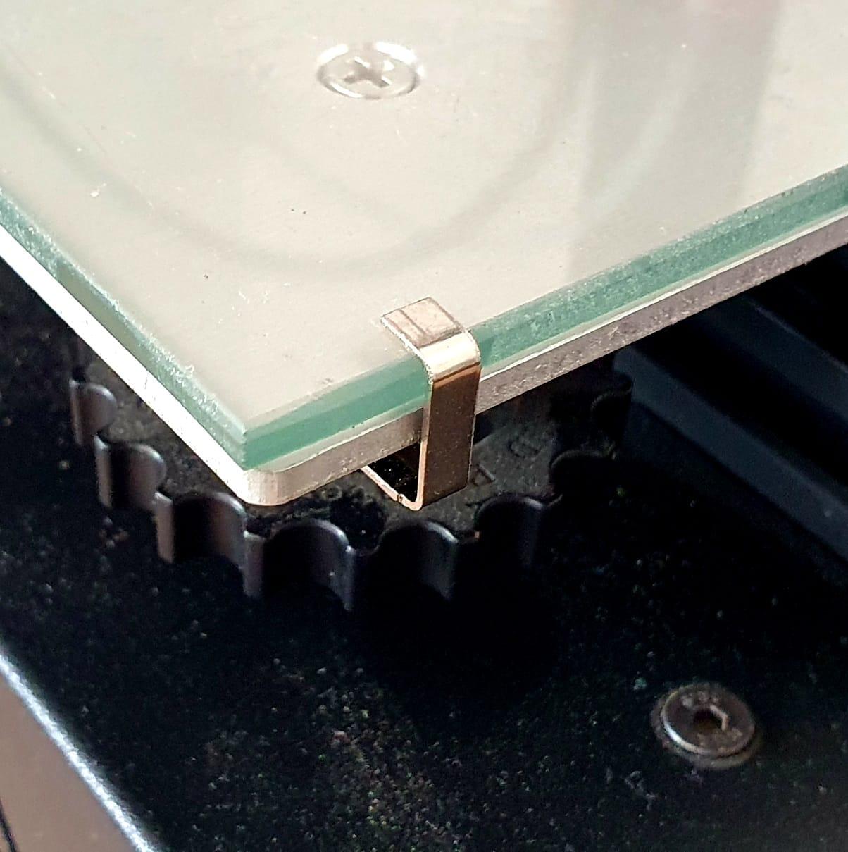 Clip Swiss para Vidro - 12mm