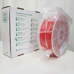 ABS RepRap PT - 2.85mm 500gr - Vermelho