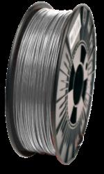 PLA RepRap PT-1.75 1KG-Cinza Prata Ral 9006