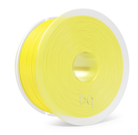PLA BQ - 1.75mm 1Kg - Pantone 122C - Sunshine Yellow (easy go)