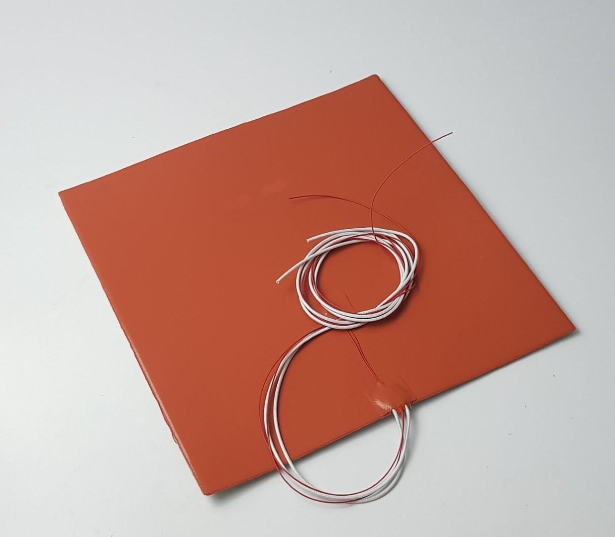 Superfície de aquecimento em silicone 400X400