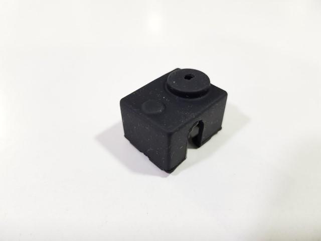 Isolamento de silicone para bloco de aquecimento 20X12X16 - preto