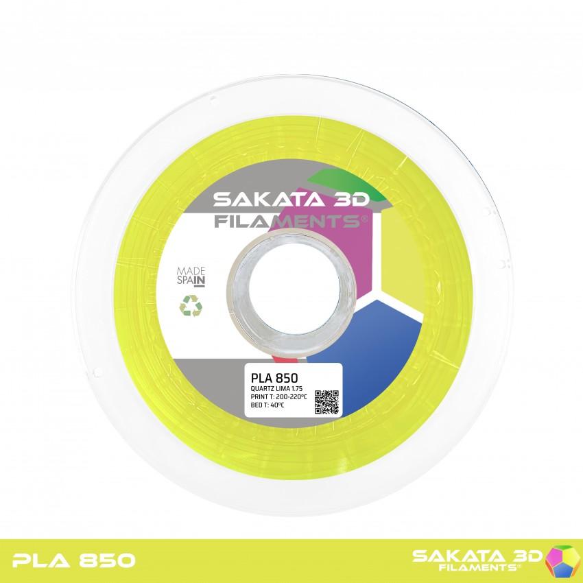 PLA INGEO 3D850 Sakata 3D - 1.75mm 1Kg - LIMA FLUO