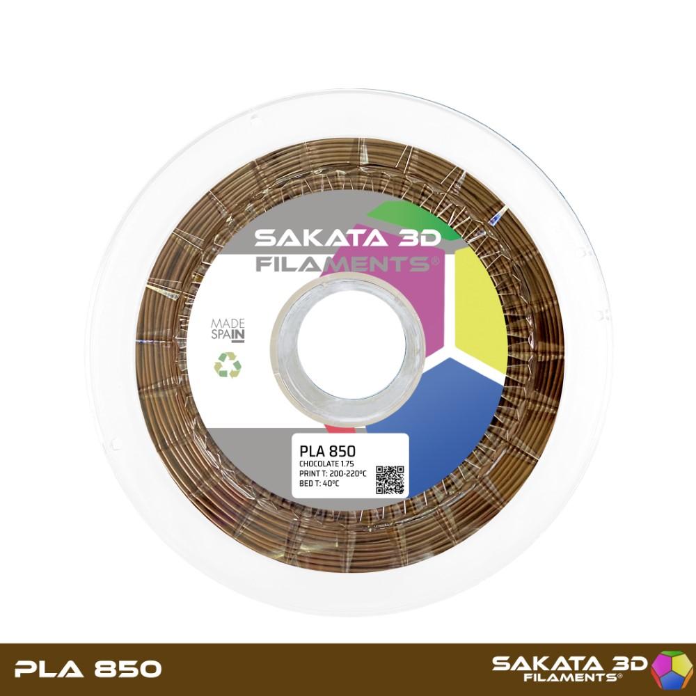 PLA INGEO 3D850 Sakata 3D - 1.75mm 1Kg - CHOCOLATE