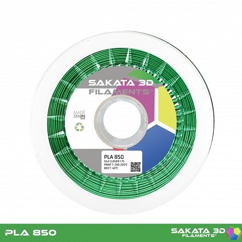 PLA INGEO 3D850 Sakata 3D - 1.75mm 1Kg -  SILK CLOVER
