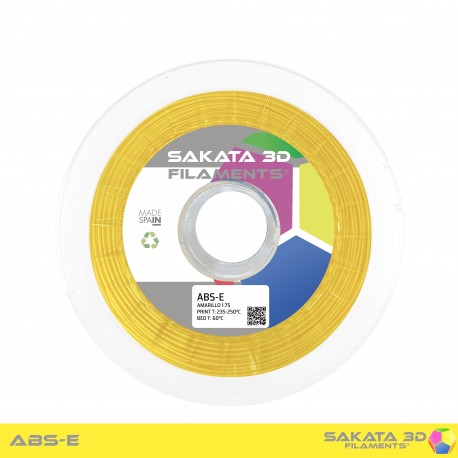 ABS-E Sakata 3D - 1.75mm 1Kg - YELLOW