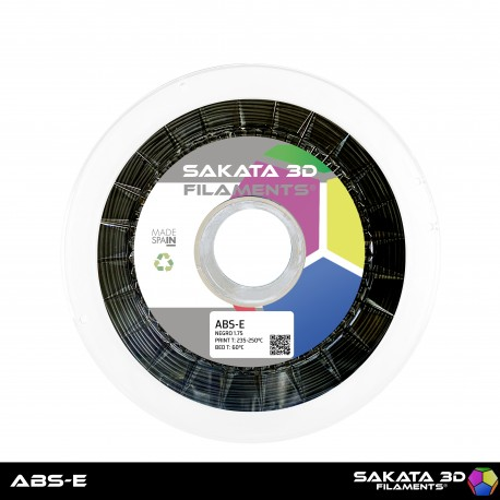 ABS-E Sakata 3D - 1.75mm 1Kg - BLACK