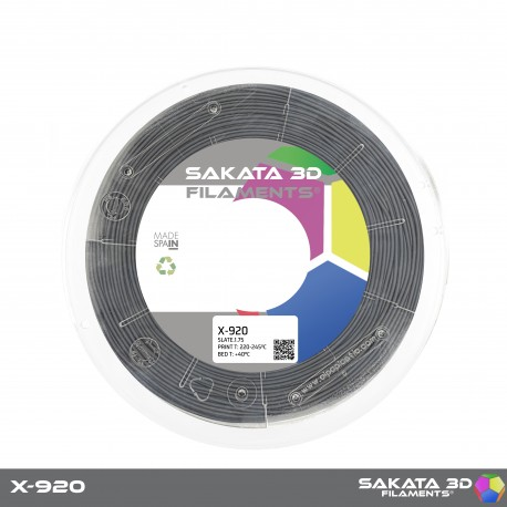 Flexível X-920 Sakata 3D - 1.75mm 450gr - SLATE