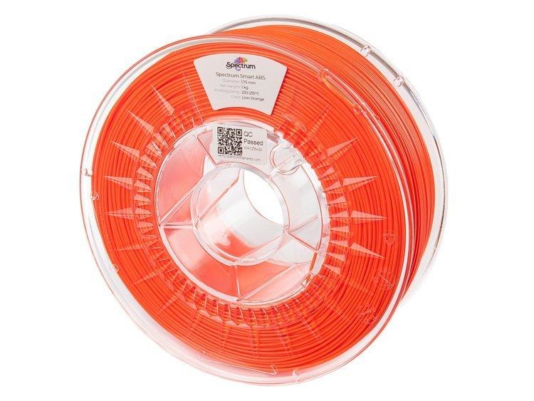 ABS SMART Spectrum - 1.75mm 1Kg - Lion Orange (RAL2004)