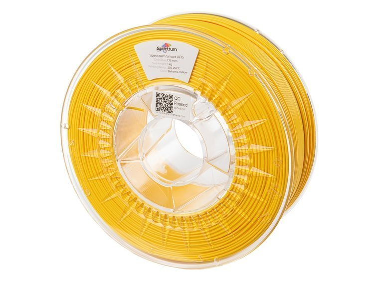ABS SMART Spectrum - 1.75mm 1Kg - Bahama Yellow (RAL1018)