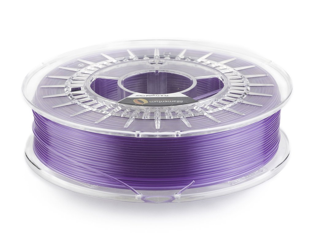 "PLA Fillamentum - 1.75mm 750Gr - Crystal Clear ""Amethyst Purple"