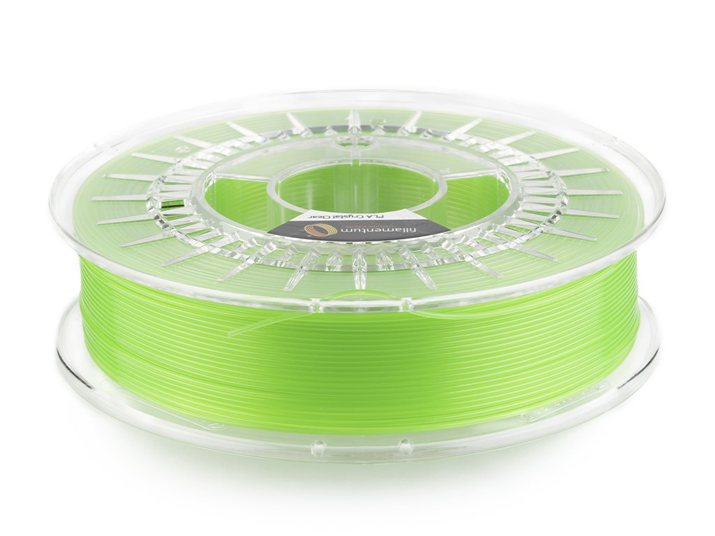 "PLA Fillamentum - 1.75mm 750Gr -Crystal Clear ""Kiwi Green"""