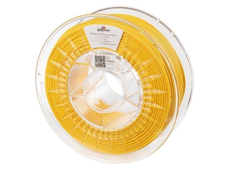 PETG Spectrum - 1.75mm 1Kg - Bahama Yellow