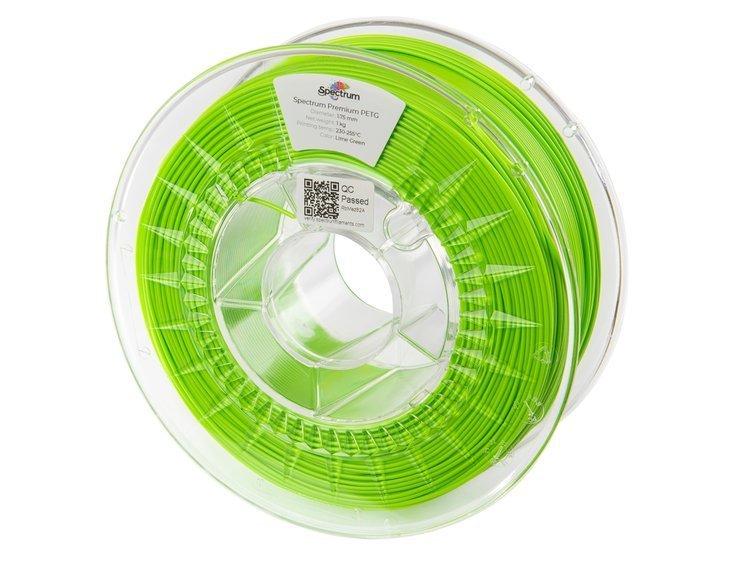 PETG Spectrum - 1.75mm 1Kg - Lime Green