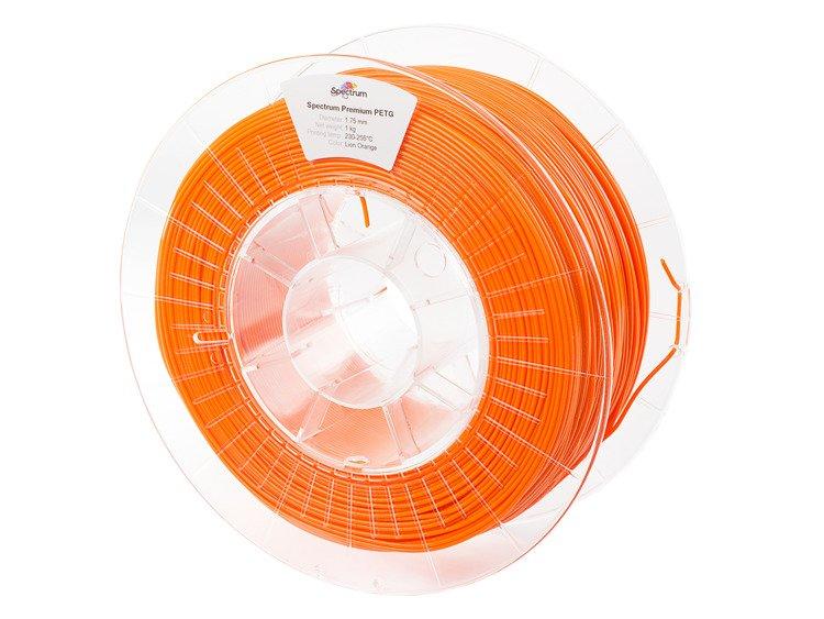 PETG Spectrum - 1.75mm 1Kg - Lion Orange