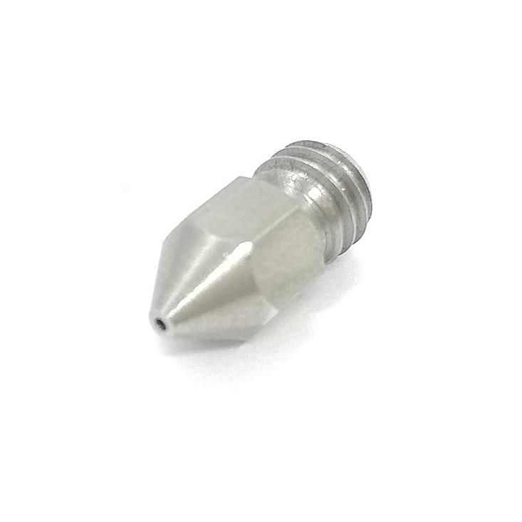 Nozzle MK8 Aço Inox - Filamento 1.75mm - 0.6mm