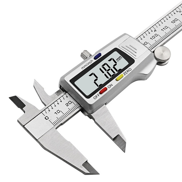 Medidor Paquímetro Digital 150mm metálico com caixa +/- 0.02mm