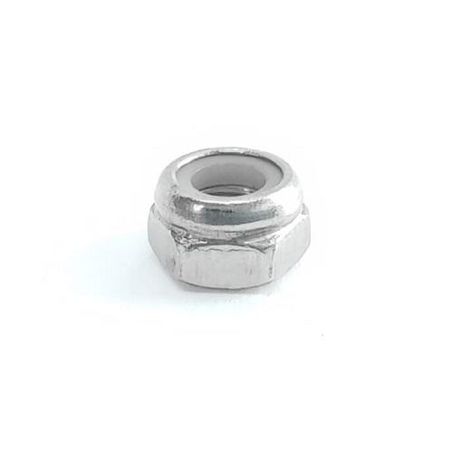 Porca autotravante M5 Nylon Aço Inox
