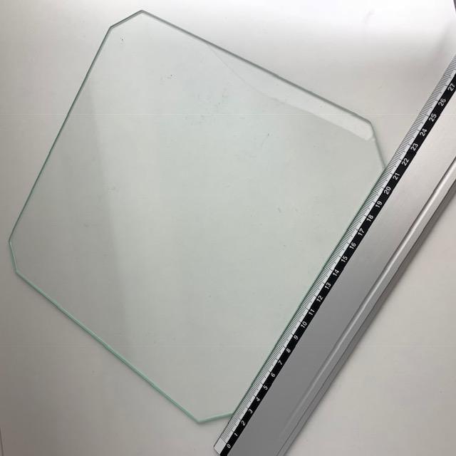 Vidro de 235mm por 235mm quadrado  s/ cantos (Ender 3)
